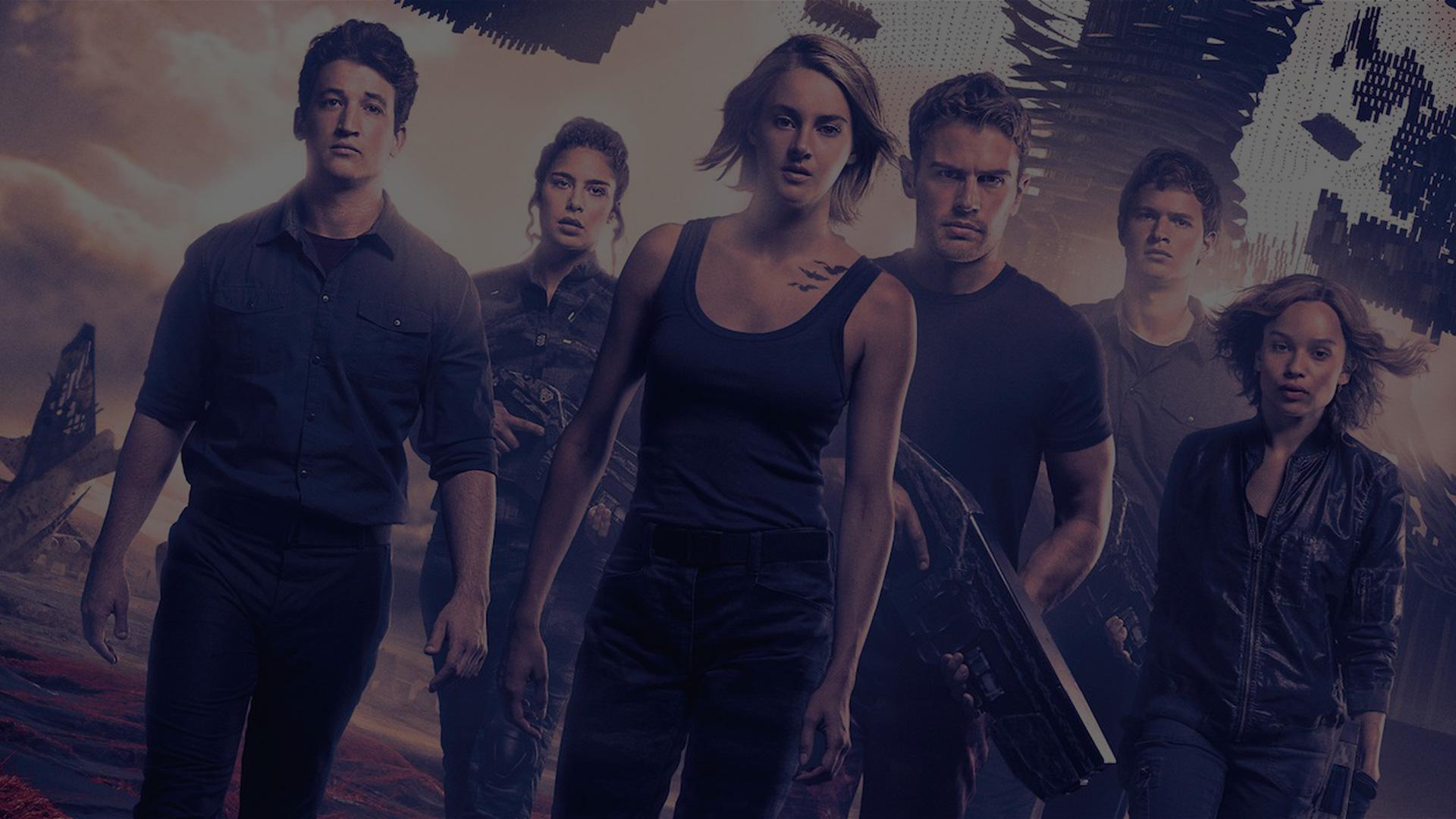 The Divergent Series | Shailene Woodley, Theo James, Ansel Elgort, Zoe Kravitz, Miles Teller, Kate Winslet | Lionsgate