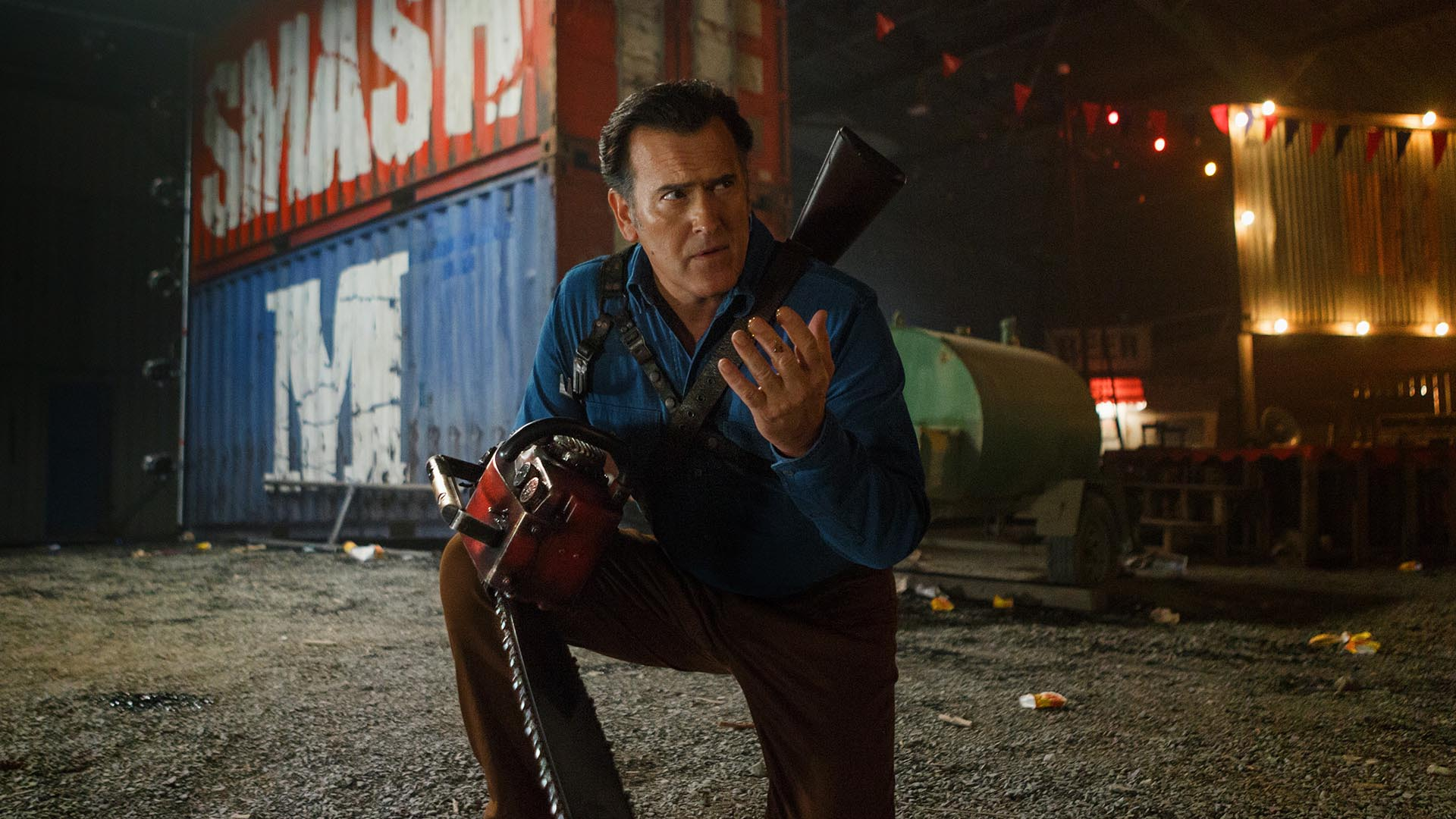 Ash Vs Evil Dead Tv Series Season 2 Bruce Campbell Sam Raimi Lionsgate