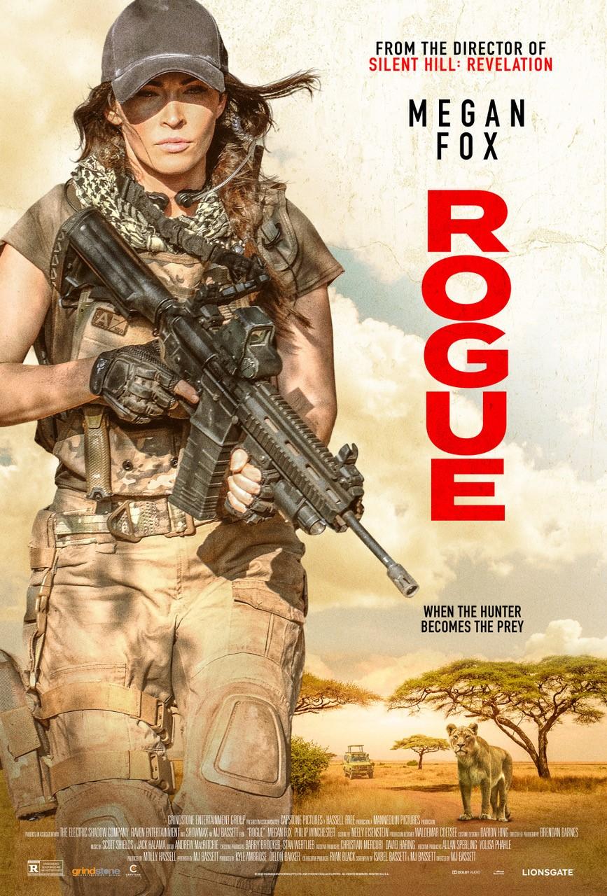 Вышел первый трейлер фильма Rogue с Меган Фокс в роли элитного бойца спецназа 1