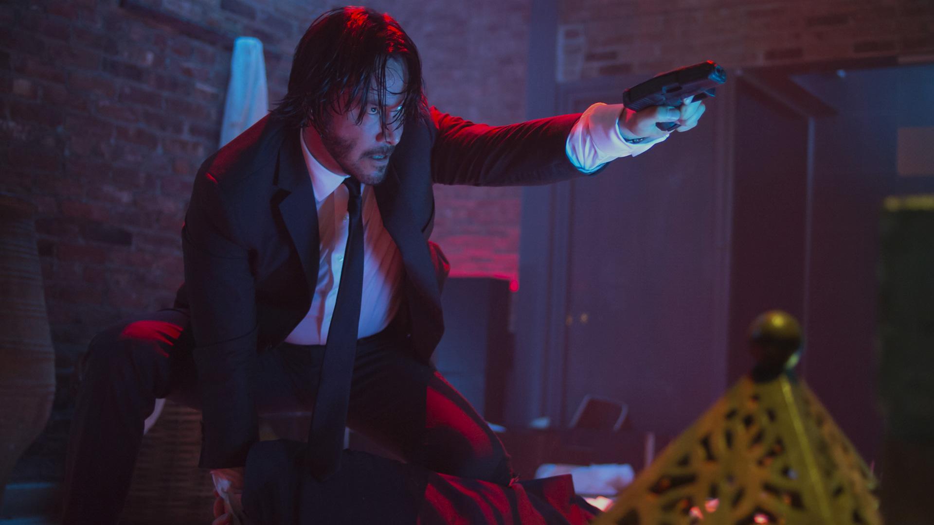 John Wick Keanu Reeves Ian Mcshane Lance Reddick Ruby